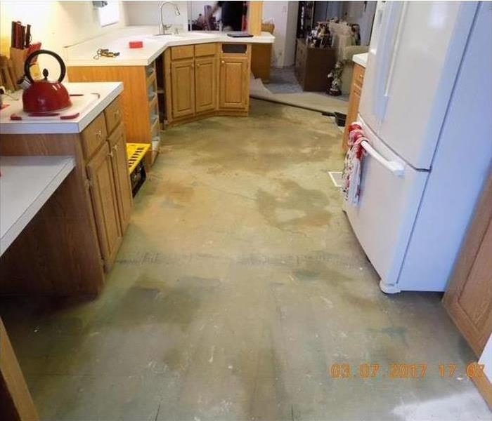 Dishwasher Leak Before