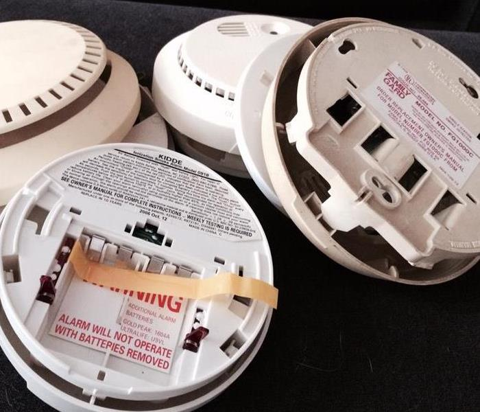 Fire Damage Don't Forget to Change the Batteries in Your Home's Smoke Detectors